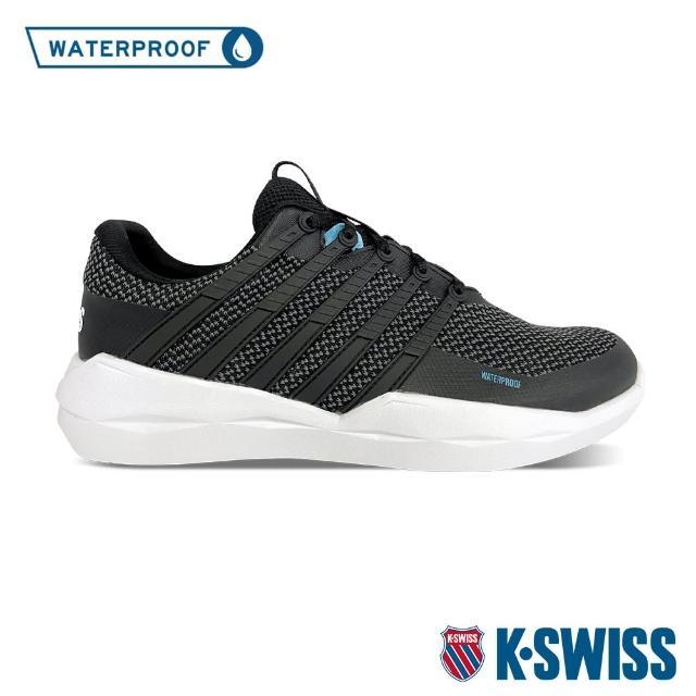 【K-SWISS】防水運動鞋 Functional WP-中性-黑針織(77121-066)