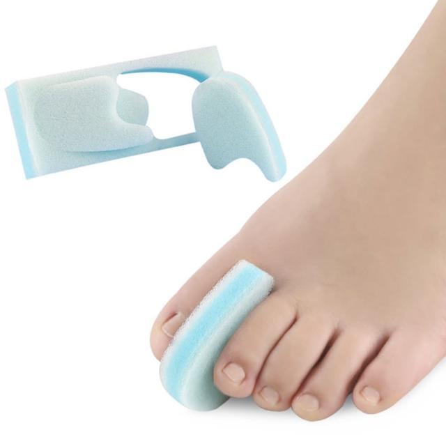 【DAYOU】los0214拇指外翻順趾墊重疊腳趾矯形器大腳骨日用分離海綿(大友)