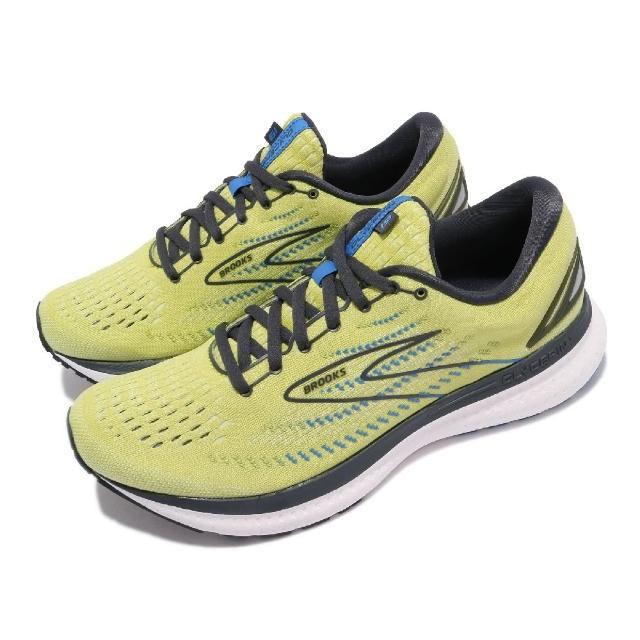 【BROOKS】慢跑鞋 Glycerin 19 運動休閒 男鞋 甘油系列 平穩型 極致柔軟避震 黃 灰(1103561D734)