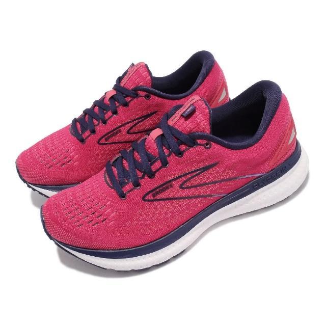【BROOKS】慢跑鞋 Glycerin 19 運動休閒 女鞋 甘油系列 平穩型 極致柔軟避震 紅 藍(1203431B623)