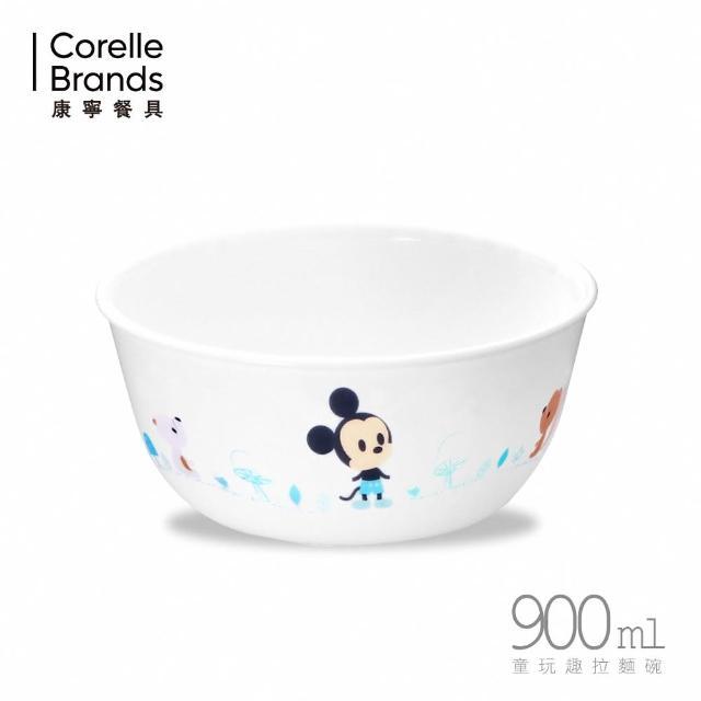 【CorelleBrands 康寧餐具】童玩趣米奇900ml拉麵碗