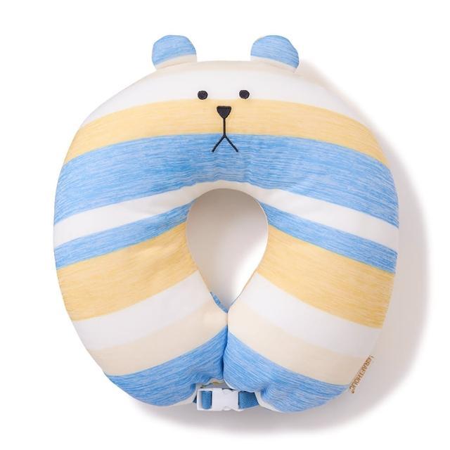 【CRAFTHOLIC 宇宙人】簡單生活熊頸枕(涼感布料)