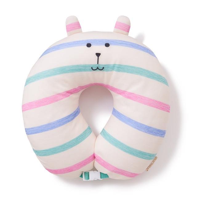 【CRAFTHOLIC 宇宙人】簡單生活兔頸枕(涼感布料)