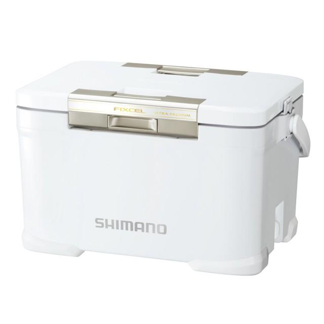 【SHIMANO】FIXCEL ULTRA PREMIUM 30L 雪白色 保冰箱(NF-030U)