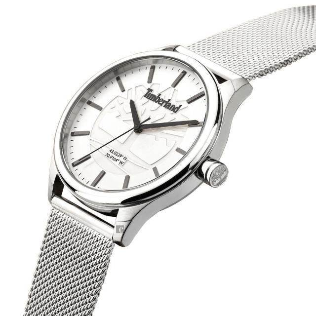 【Timberland】時尚米蘭帶手錶-40mm(TDWGG2100801)