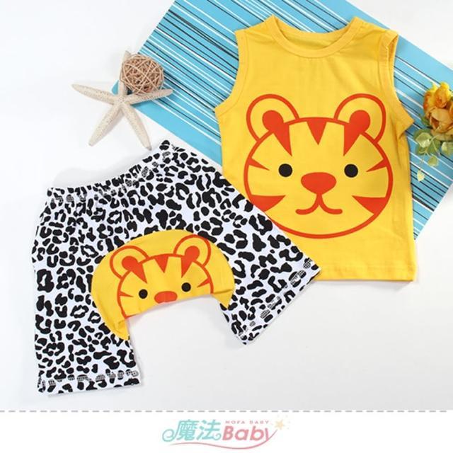 【魔法Baby】1~3歲幼童套裝 春夏清涼寶寶無袖套裝(k51697)