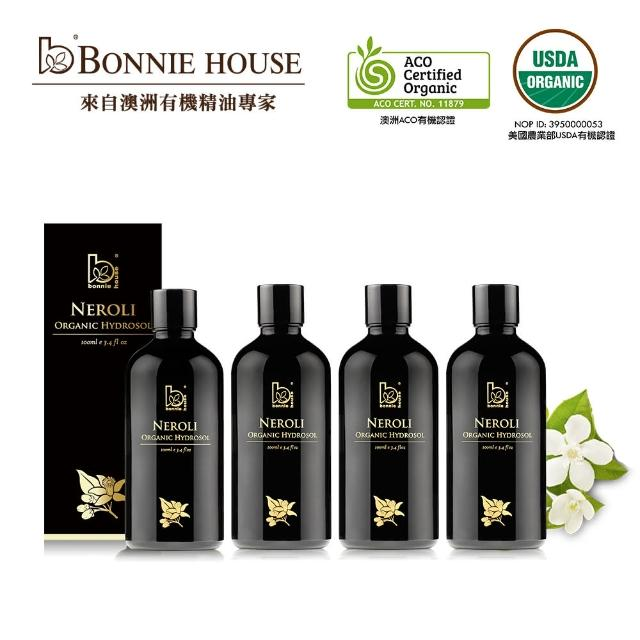Bonnie House有機淨白淡斑橙花精油純露