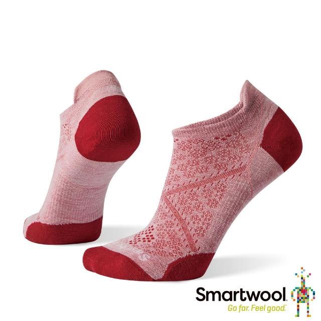 【SmartWool】女 PhD超輕跑步踝襪(花蜜粉)