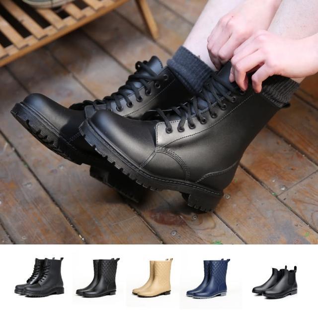 【J&H collection】防滑耐磨短筒休閒雨鞋共三款(現+預 A款 / B款 / C款)