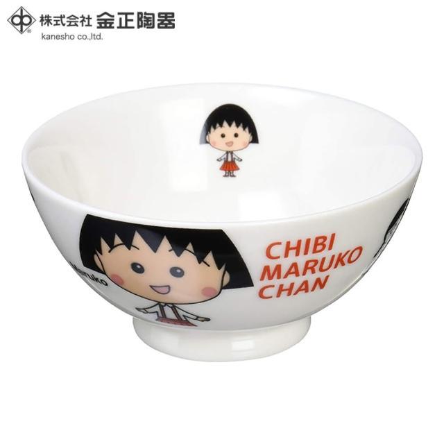 【櫻桃小丸子】日本金正陶器 櫻桃小丸子茶碗(日本製 日本原裝進口瓷器)