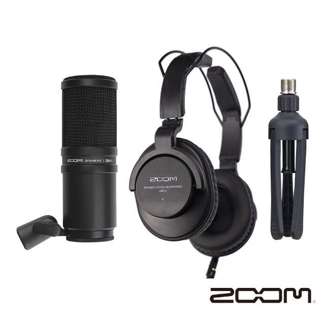【ZOOM】ZDM-1 Podcast Mic Pack 播客套組(正成公司貨)