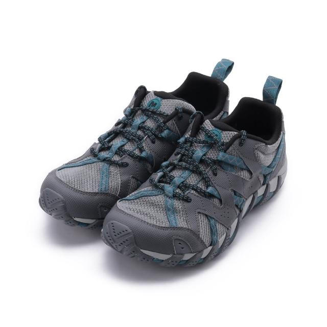【MERRELL】WATERPRO MAIPO 2 越野水陸鞋 灰/藍綠 女鞋 ML034092