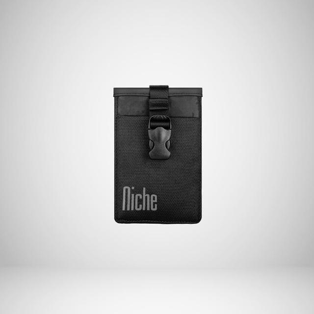 【NICHE 樂奇】開放式手機腰掛包 收納袋 手機袋 #803(男士手機包 腰包 掛包 隨身小包)