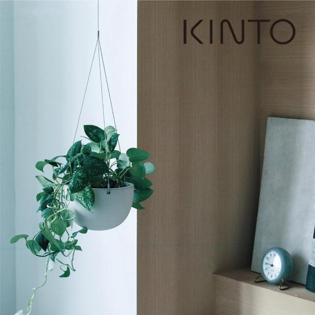 【Kinto】PLANT POT 盆栽吊籃_米色 14cm