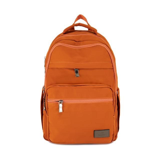 【J II】後背包-無限多隔層防潑水後背包-陽光橘-6377-26(後背包)