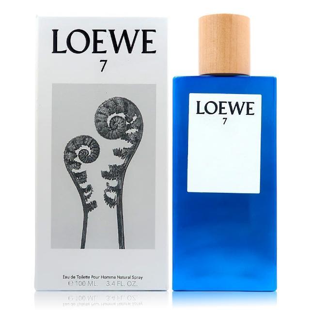 【LOEWE 羅威】7 男香淡香水 100ML(平行輸入)