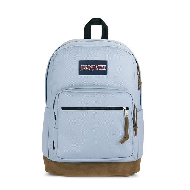 【JANSPORT】RIGHT PACK單邊水壺側袋款(薄暮藍 JS-43972J7G7)