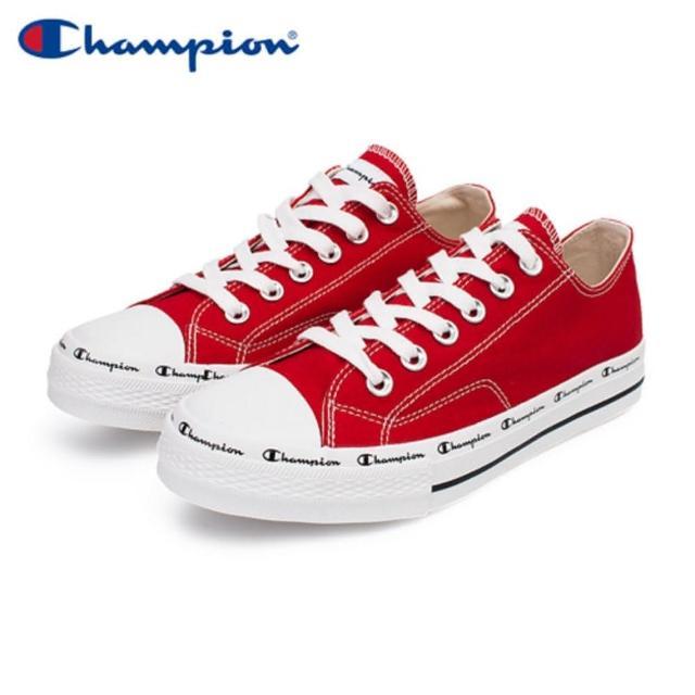 【Champion】CLASSIC CP CANVAS 男女中性款紅色低筒帆布鞋NO.USLS-1013-33