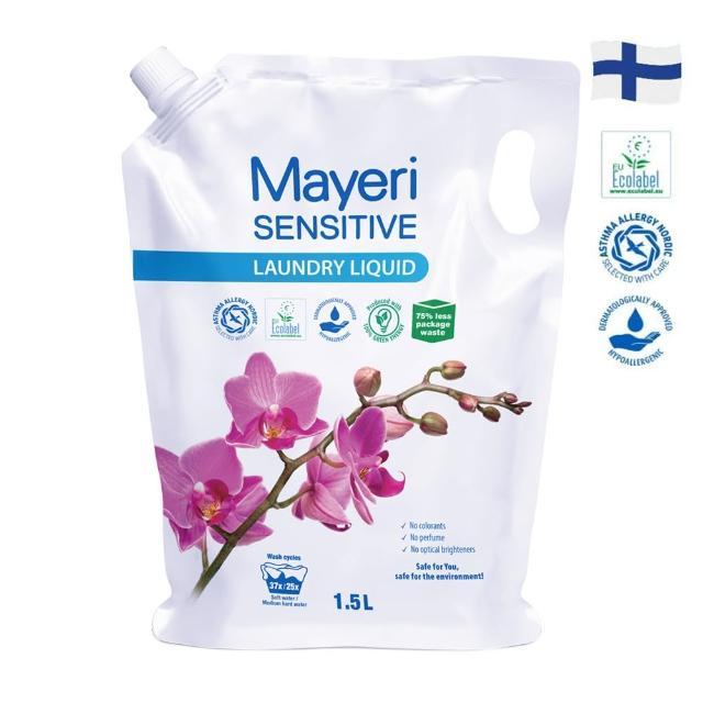 【Mayeri 瑪耶里】低敏速淨濃縮洗衣精補充包(1500ml)