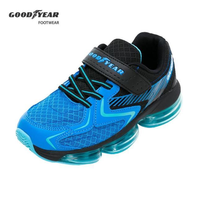 【GOODYEAR 固特異】氣能非凡-大氣墊緩震運動鞋/中大童鞋 能量藍(固特異GAKR08726)