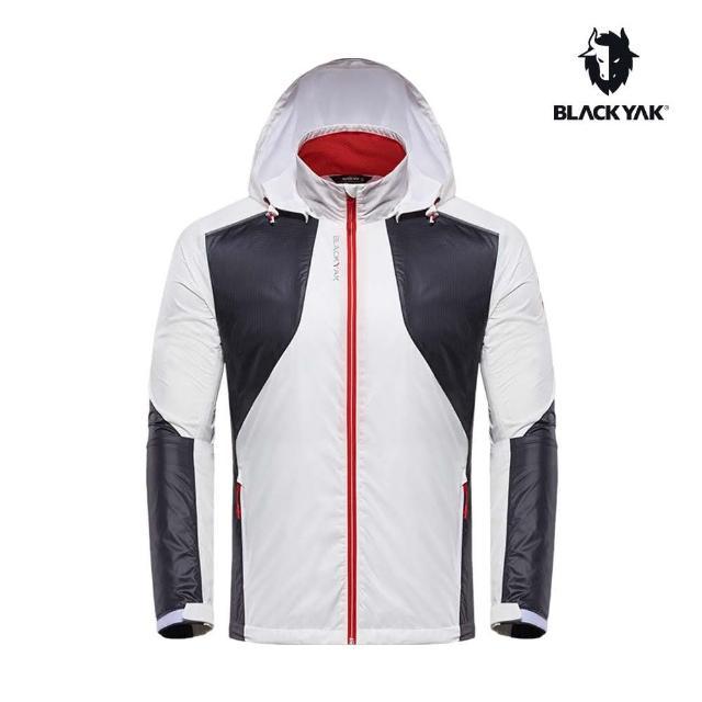 【BLACK YAK】男CORDURA拼接輕量防風外套[白色]BY181MJ003(韓國春夏 防風外套 男外套)