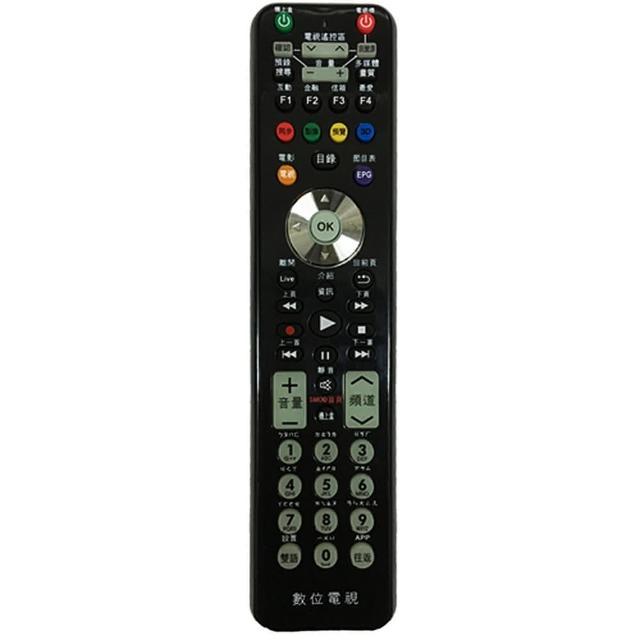 【全區版】第四台有線電視數位機上盒遙控器 MOD-1000(2入組)