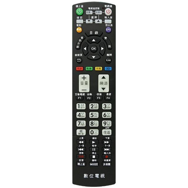 【全區版】第四台有線電視數位機上盒遙控器 MOD-2000
