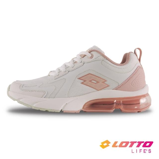 【LOTTO】女 氣墊跑鞋(米/粉-LT1AWR3573)