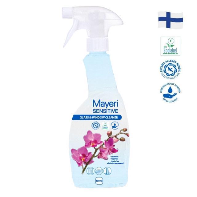 【Mayeri 瑪耶里】低敏速淨玻璃清潔噴霧(500ml)