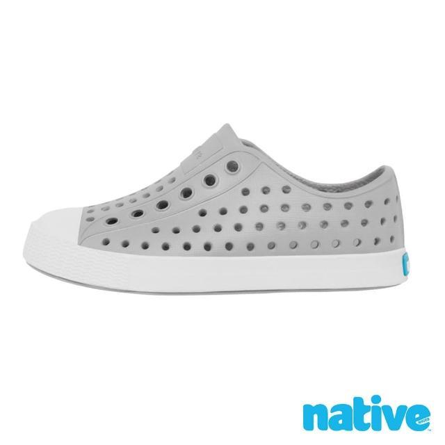 【native】小童鞋 JEFFERSON 小奶油頭鞋(鴿子灰x貝殼白)