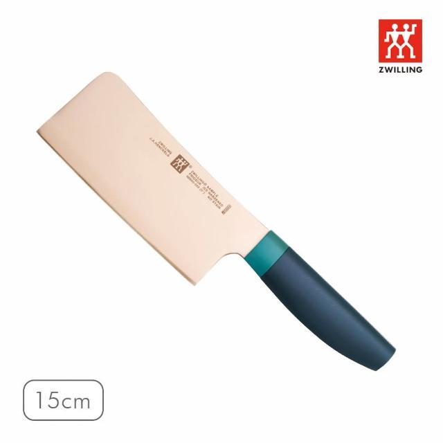 【ZWILLING 德國雙人】Now剁刀15cm(莓果藍)