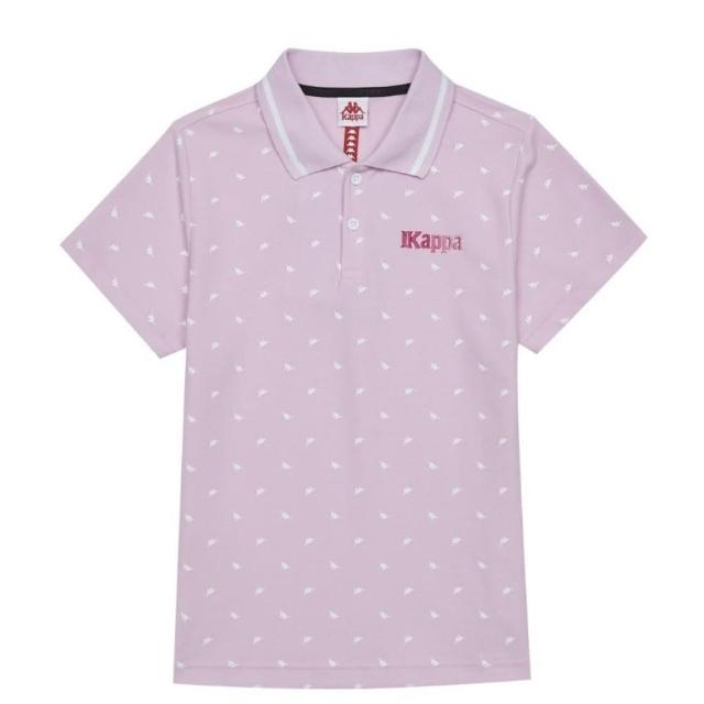 【KAPPA】義大利女吸濕排汗速乾女生POLO衫(粉紅 34172VWXLB)