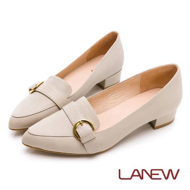 【La new】羊皮低跟淑女鞋(女46270435)