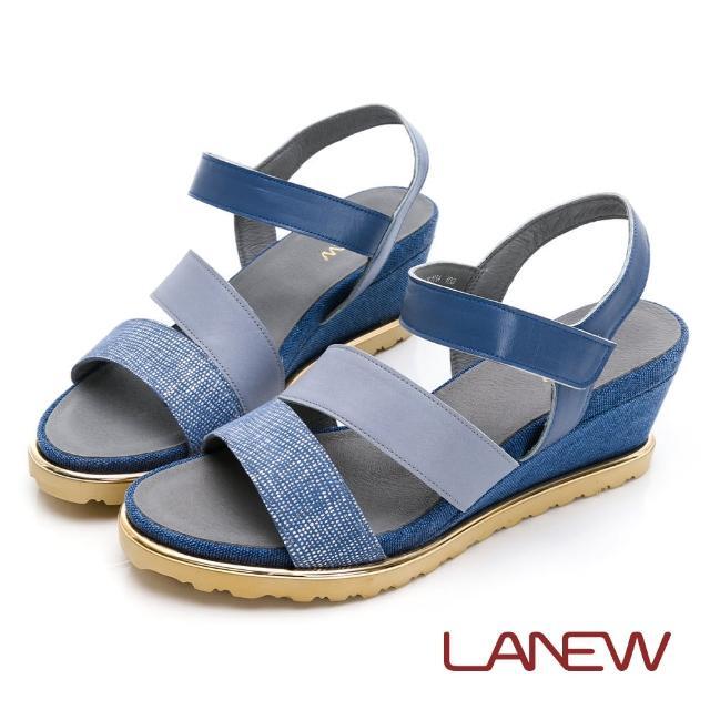 【La new】輕量楔型鞋 涼鞋(女76270635)