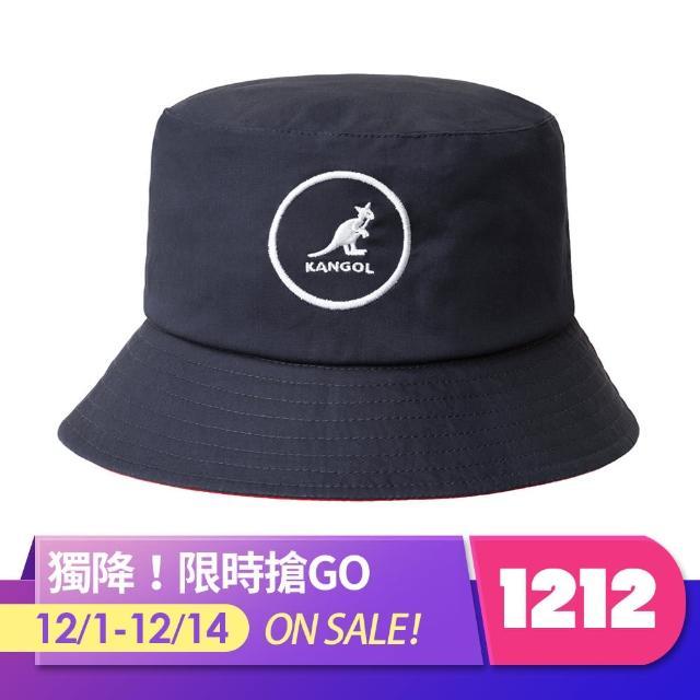 【KANGOL】COTTON BUCKET 漁夫帽(深藍色)