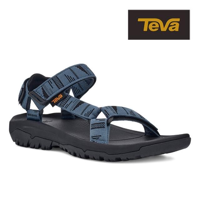【TEVA】原廠貨 男 Hurricane XLT2 機能運動涼鞋/雨鞋/水鞋(青灰色-TV1019234CONB)