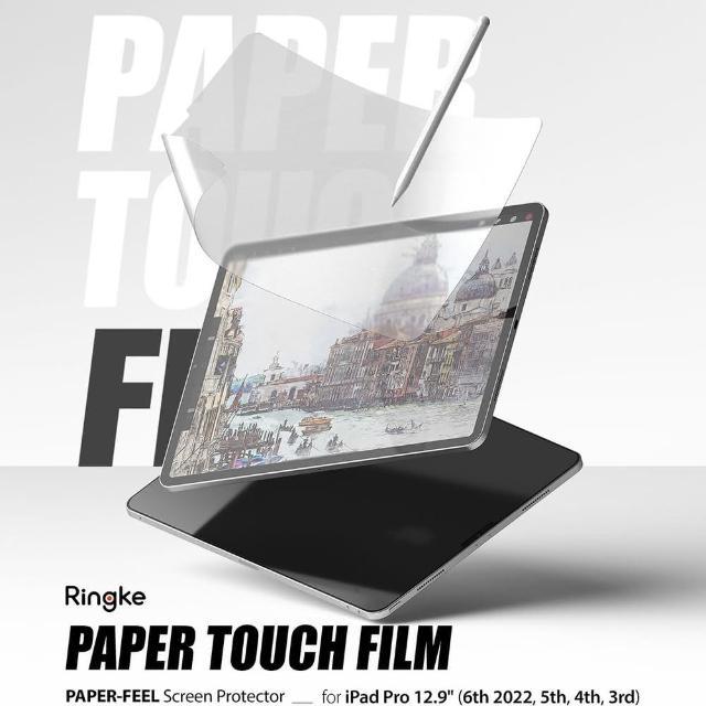 【Ringke】Apple iPad Air 10.9吋/iPad Pro 11吋 12.9吋 Paper Touch Film 類紙膜保護貼(Rearth 保護貼)