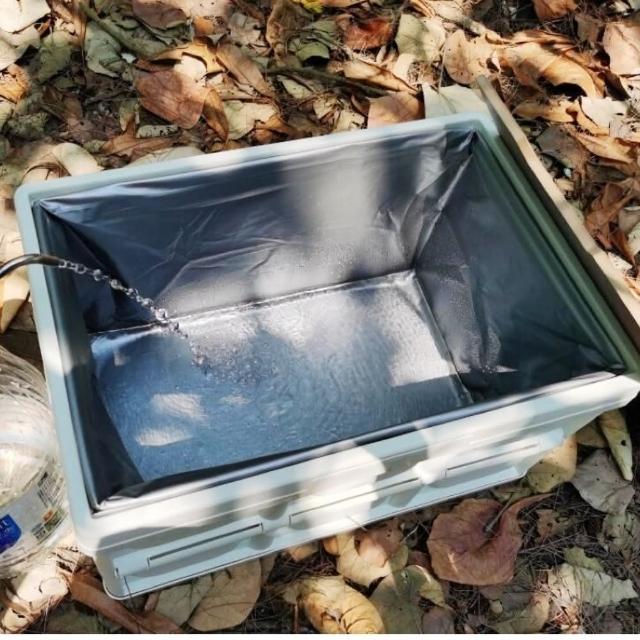 【May shop】折疊式56L 摺疊箱專用 收納多用途防水袋(不含摺疊箱)