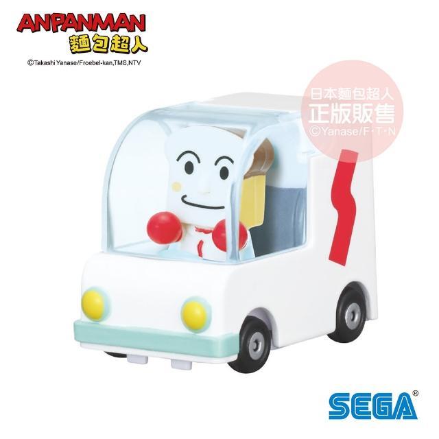 【ANPANMAN 麵包超人】NEW! GOGO小汽車 吐司超人號&吐司超人(3歲-/公仔)