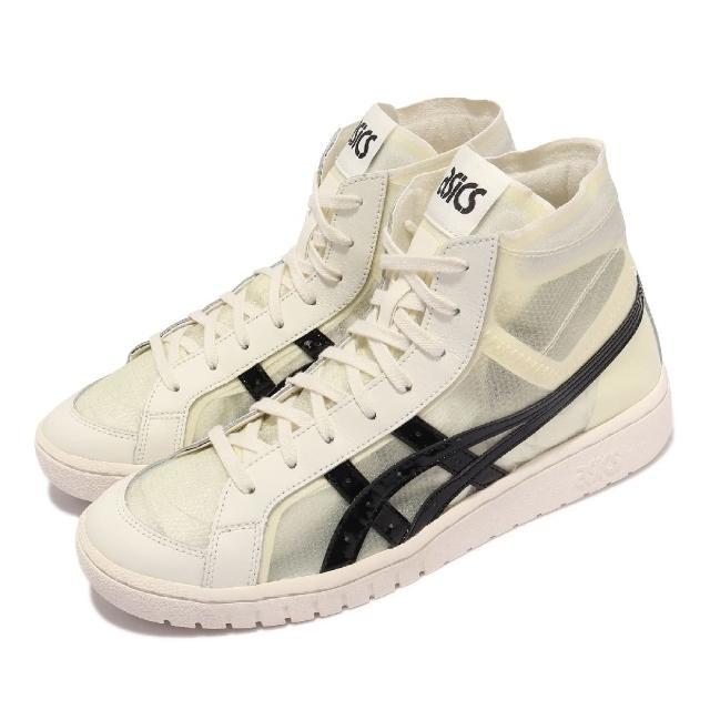 【asics 亞瑟士】休閒鞋 GEL-PTG MT 高筒 男鞋 亞瑟士 微透鞋面 穿搭推薦 皮革 淺褐 黑(1191A342100)