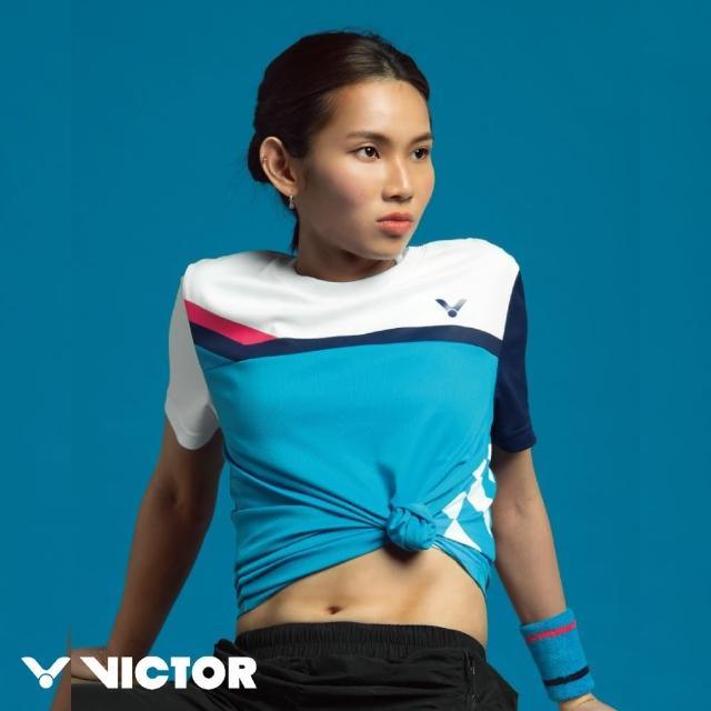 【VICTOR 勝利體育】Crown Collection戴資穎專屬系列賽服運動推廣服 中性款(S-2010 二色)