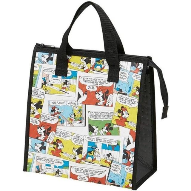 【小禮堂】迪士尼 方形不織布保冷便當袋 保冷提袋 保溫袋 野餐袋 《彩 漫畫》
