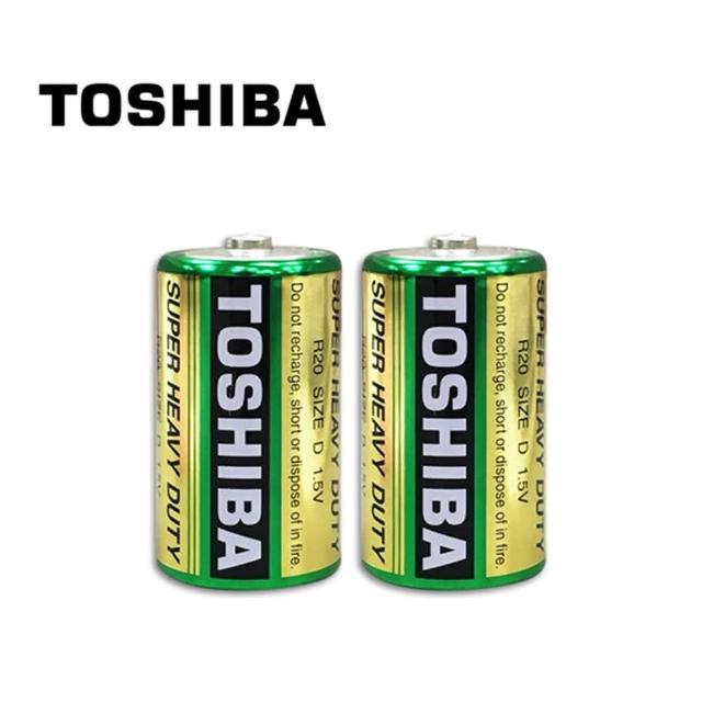 【TOSHIBA 東芝】環保1號電池 2入