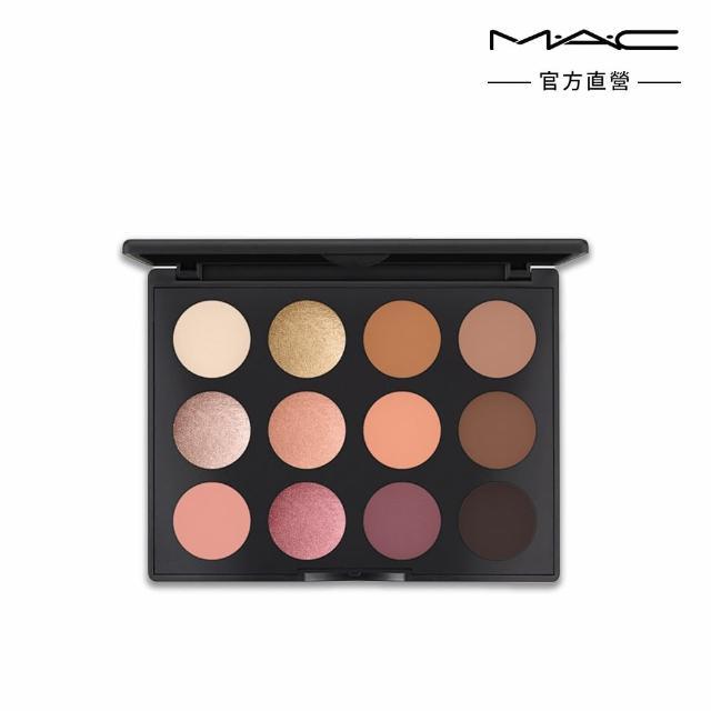 M.A.C【M.A.C】時尚專業12色眼影盤17.2g(彩妝控必備眼妝百科全書)