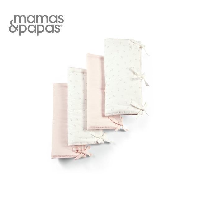 【Mamas & Papas】絮花呢喃-綁帶床圍(8入)