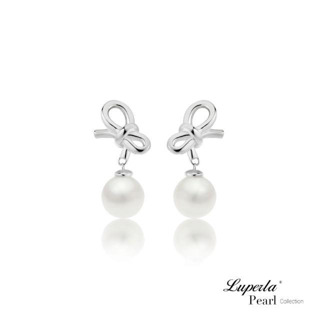 【大東山珠寶】第一夫人系列 真情禮物 南洋貝寶珠 925純銀 耳環(硨磲貝珠)