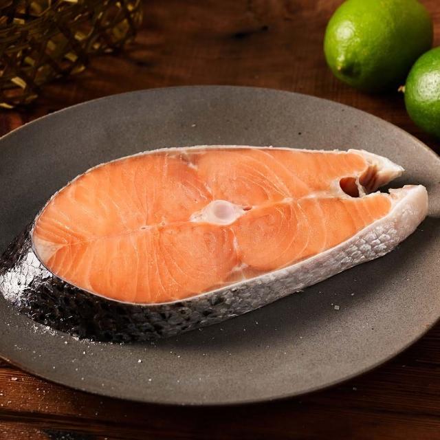 【鮮食家】任選799 台灣好漁FC 智利厚切鮭魚排(200g/包)