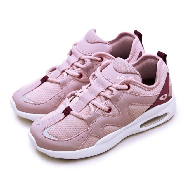 【LOTTO】女 專業避震輕氣墊慢跑鞋 AbiLe系列(粉紫 2363)