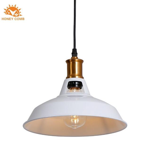 【Honey Comb】紐約美式工業風餐廳單吊燈白色(KC1394)