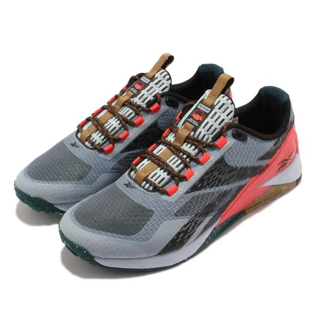 【REEBOK】訓練鞋Nano X1 TR Adventure 男鞋 室內外訓練 支撐 穩定 包覆 運動 灰黑 橘(H02993)